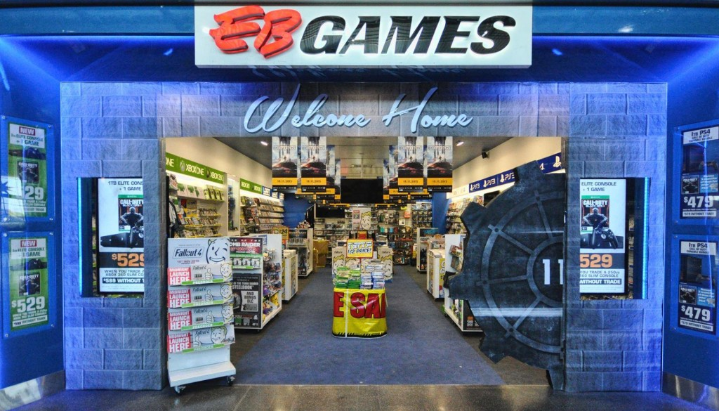 EB Games store hours